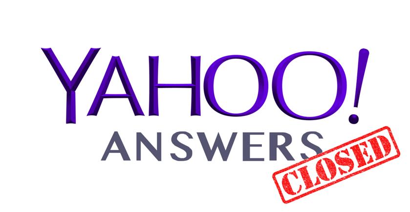 yahoo-answers-chiude