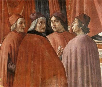 13 cappella Tornabuoni Agnolo Poliziano