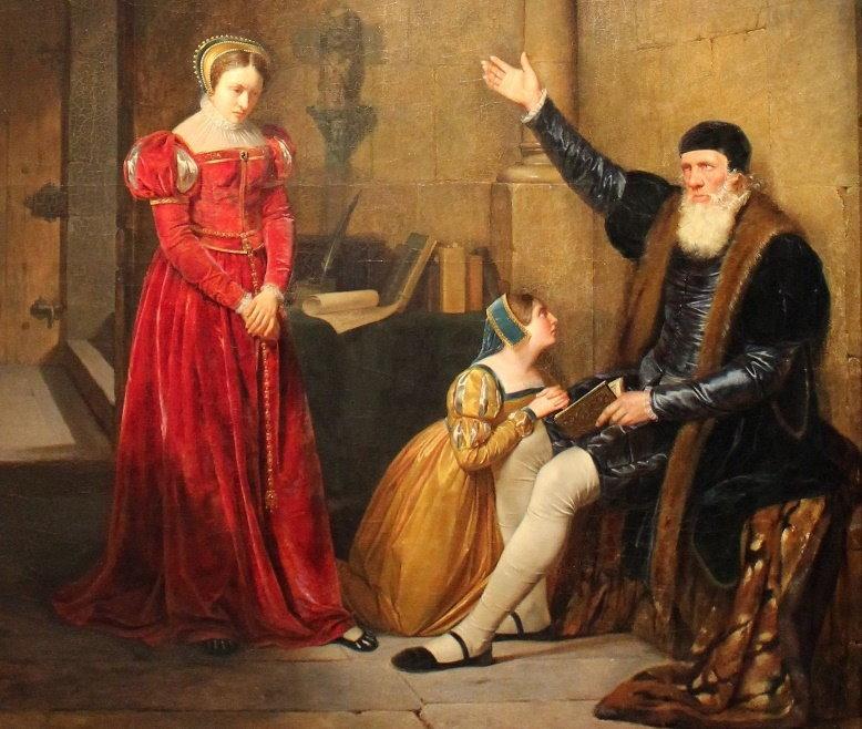 15 Claudius Jacquand Thomas More nella Torre di Londra