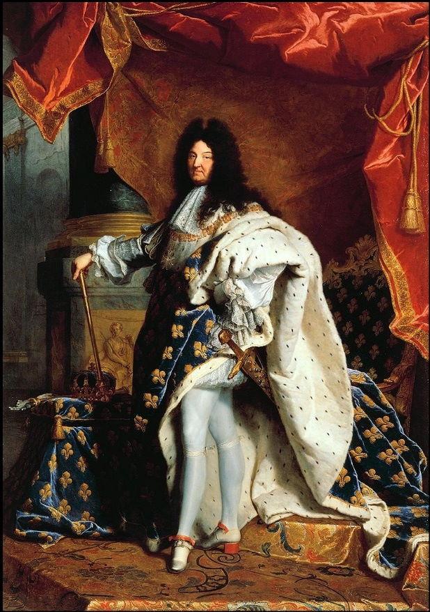 19 Hyacinthe Rigaud – Ritratto di Luigi XIV, 1702