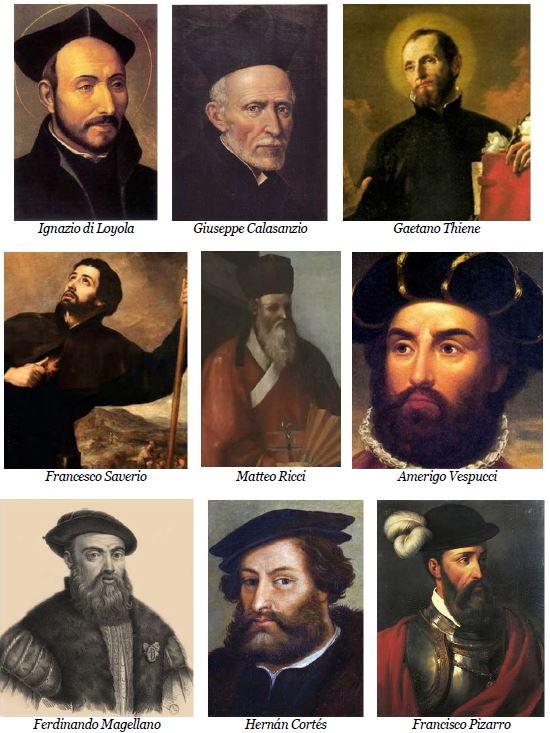 tav 17 Barbe missionarie e conquistatrici