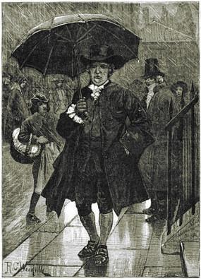 Per strada senza ombrello 02